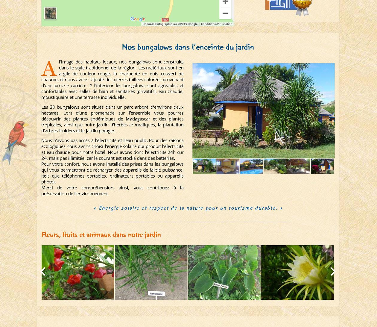 Site premium - Isalo